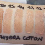 libellula bio couleur caramel hydra coton swatches