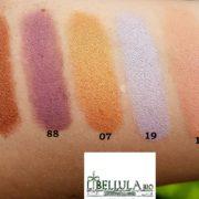 libellula bio couleur caramel swatches ombretti bio 88 123 07 19 52