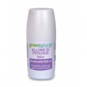 libellulabio green natural deodorante-roll-on-allume-di-potassio-talco