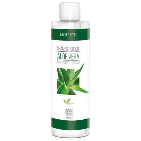 libellulabio bioearth shampoo-doccia-aloe-vera family 500ml