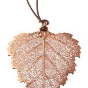 libellulabio esterbijoux betulla oro rosa ciondolo