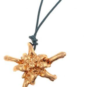 libellulabio esterbijoux stellaalpina oro ciondolo