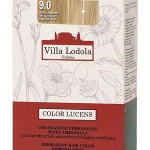 libellulabio villalodola colorlucens 9.0 biondo chiarissimo