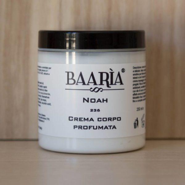 libellulabio bioteko baaria crema corpo profumata bio maschile nr. 236 noah