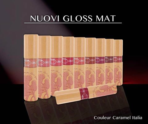 libellula bio couleur caramel gloss mat new