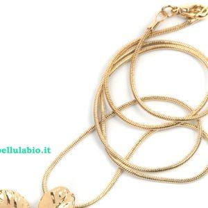libellulabio ester bijoux catenina oro