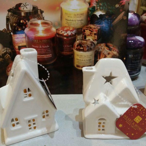 ibellulabio heart home casette ceramica porta tealight.