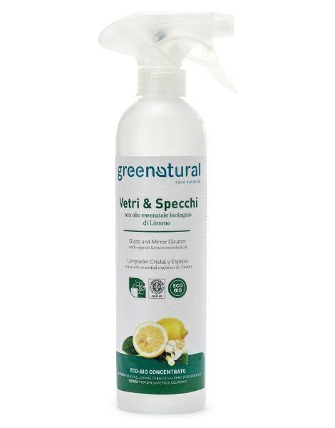 libellula bio greenatural vetri e specchi limone bio 500 ml