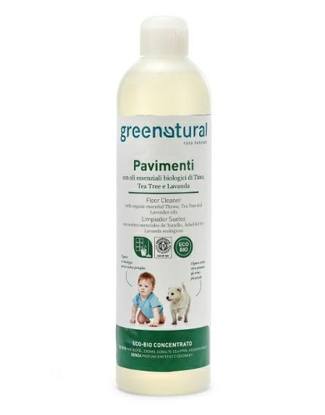 libellulabio greenatural igiene pavimenti timo, tea tree e lavanda ecobio 500 ml