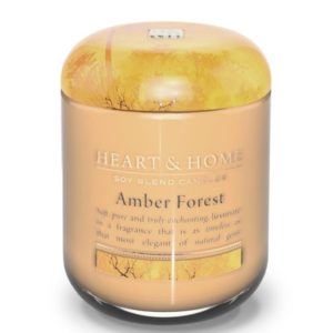 libellulabio heart and home foresta ambrata vaso