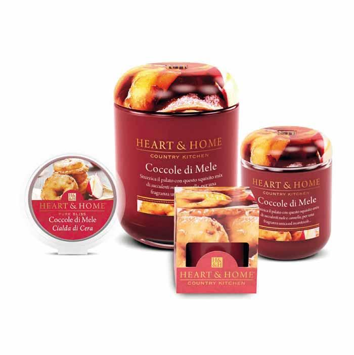 Heart Home Candele.Heart Home Coccole Di Mele Libellulabio Bio Profumeria Online