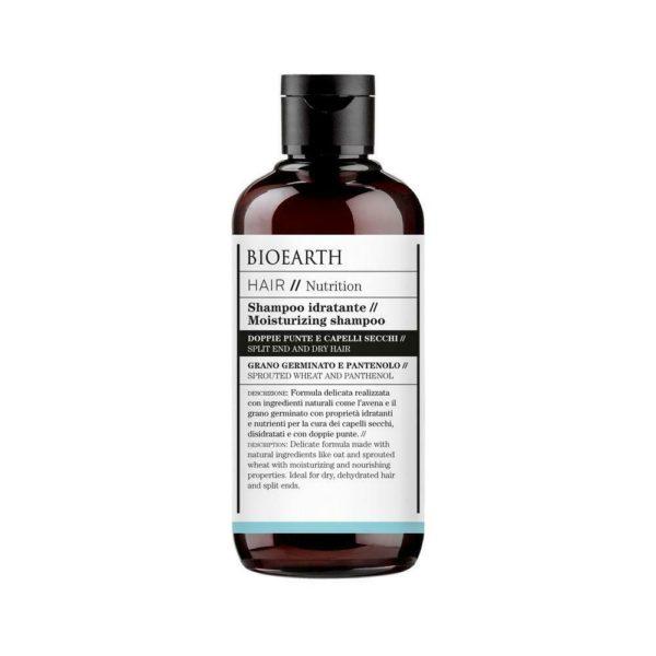 shampoo idratante nutrition bioearth