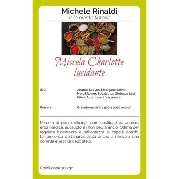 miscela lucidante charlotte michele rinaldi