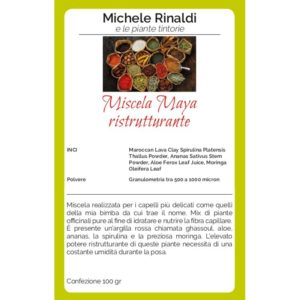 ristrutturante miscela maya michele rinaldi