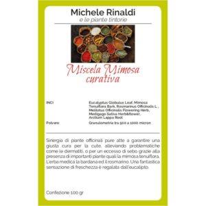 miscela curativa mimosa michele rinaldi