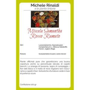 rosso ramato miscela samantha michele rinaldi
