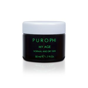 purophi pelle secca my age normal and dry skin
