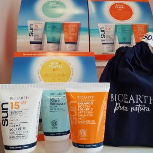 kit minitaglie travel & sun bioearth
