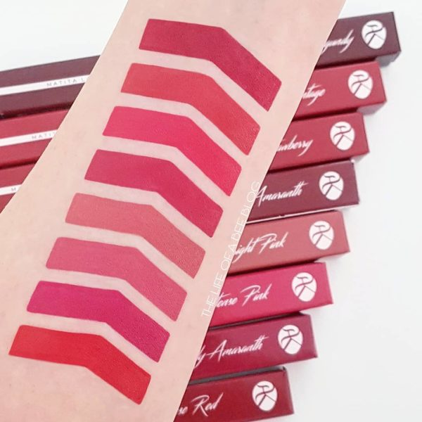 shades of red Alkemilla