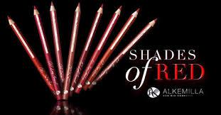 shades of red matite labbra Alkemilla