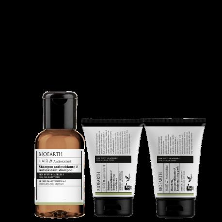 kit capelli mini antioxidant bioearth
