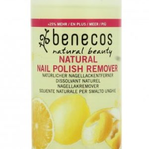 solvente smalto unghie natural polish remover Benecos