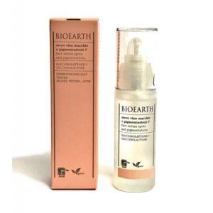 macchie e pigmentazioni siero viso bioearth