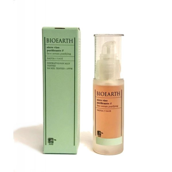 siero viso purificante bioearth 30 ml