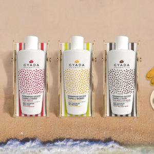shampoo secco Gyada cosmetics