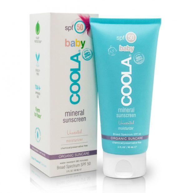 coola mineral baby spf 50 senza profumo
